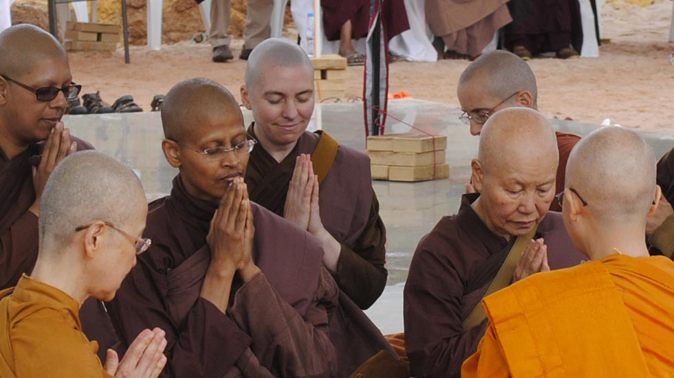 Dhammasara Ordination